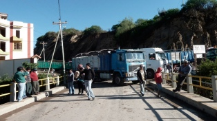 Transportistas se suman a la huelga contra el nuevo código penal
