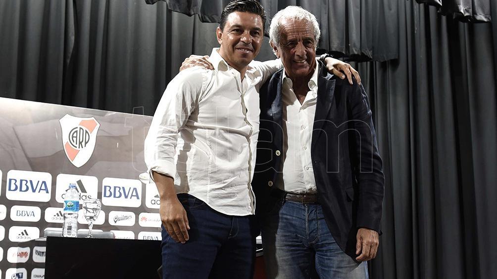 El presidente de River contra la Conmebol por el maltrato a Gallardo (foto archivo)