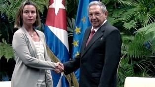 Mogherini aseguró que la Unión Europea es un socio confiable para Cuba