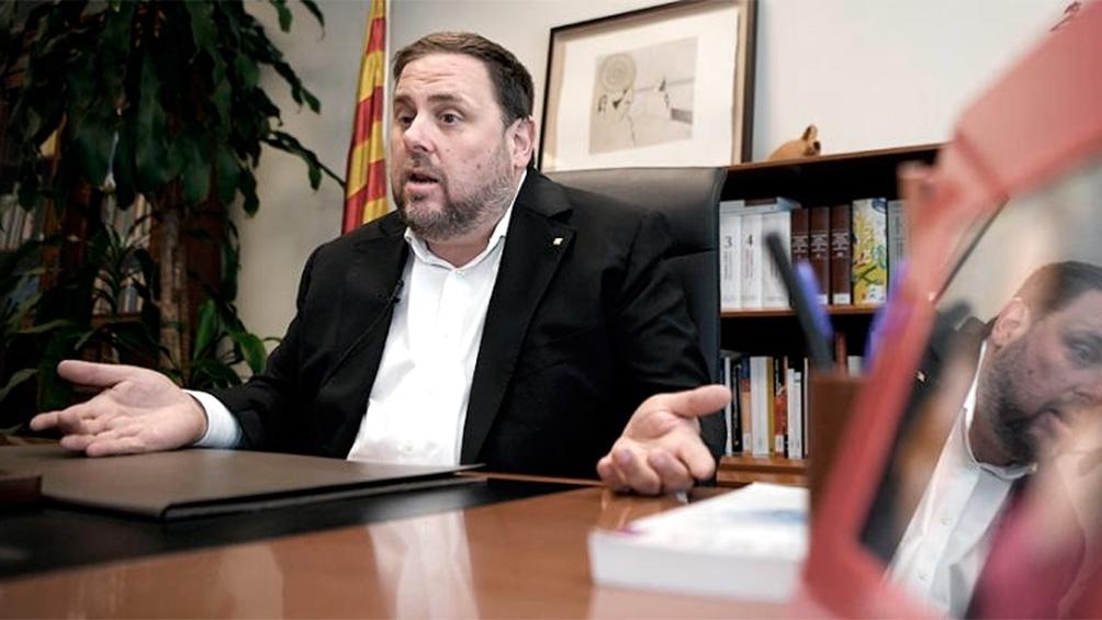Ex vicepresidente catalán Oriol Junqueras