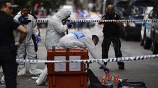 Detonaron dos artefactos de fabricación casera frente al Departamento Central de Policía