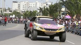 Comenzó en Lima el Rally Dakar 2018, con 64 argentinos