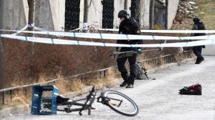 Una explosión junto al subte de Estocolmo deja un muerto y una mujer herida