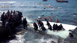 Uno de cada 14 migrantes murieron en 2018 cruzando el Mediterráneo hacia Italia