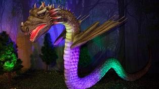 """La muestra """"Dragonland by Ciruelo"""" continuará hasta el 4 de marzo en La Rural"""