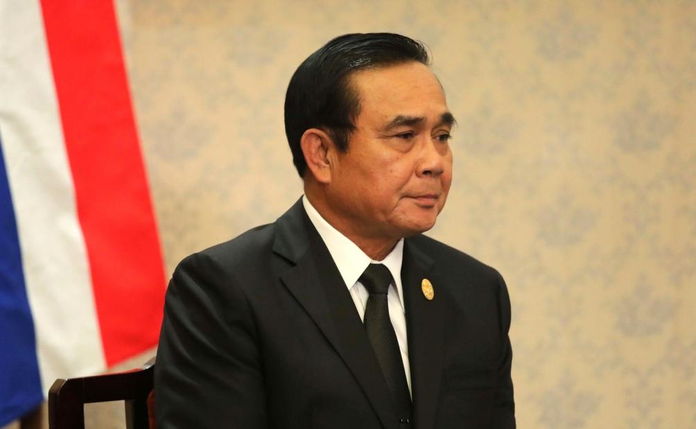 Prayut Chan-o-cha, primer ministro de facto de Tailandia y candidato