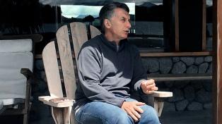 Macri recibirá en Villa La Angostura a los gobernadores de Chubut y Río Negro