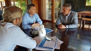 El gobernador Arcioni calificó su reunión con Macri como positiva