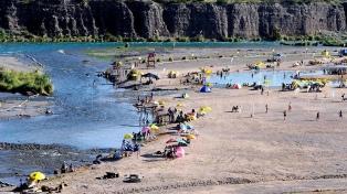 La provincia suma este verano playas públicas a la vera de sus ríos y lagos