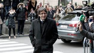 Los independentistas catalanes negocian con Puigdemont en Bruselas