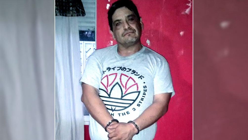 Humberto Monteros, líder de la Uocra Bahía Blanca detenido.