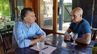Macri retoma su agenda con una visita a las obras de la Villa Olímpica