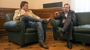 Massa le aseguró a Pichetto que dirigentes de su espacio estarán en Gualeguaychú