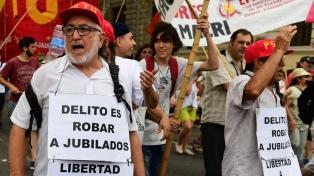 """Marcha a Plaza de Mayo contra """"la criminalización de la protesta social"""""""