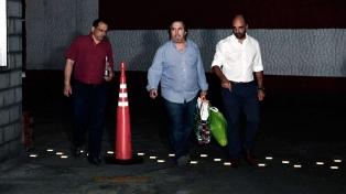 Ya libre, Núñez Carmona contó que jugó al fútbol con Zannini y pintó mandalas