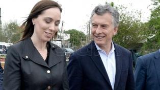 Macri recibe a la gobernadora Vidal en Villa La Angostura