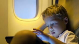Los menores de 12 años se aburren y comienzan a molestar en los vuelos a los 49 minutos