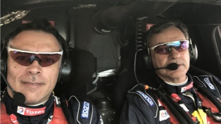 El español Sainz ganó la séptima etapa en Bolivia y es nuevo líder del Dakar