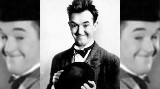 Encuentran escenas perdidas de un filme mudo de Stan Laurel