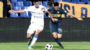 Boca comenzó el 2018 con una derrota ante Godoy Cruz