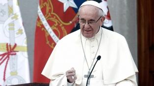 Francisco recibió a víctimas de abusos de sacerdotes