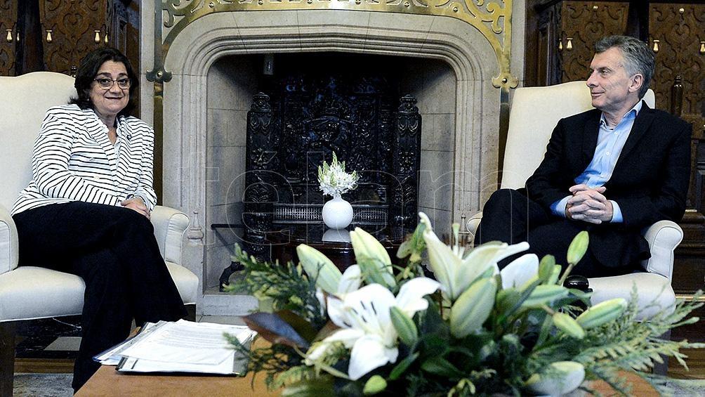 Macri recibe a los gobernadores Corpacci y Weretilneck