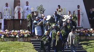 Las fotos de la misa de Francisco en Temuco