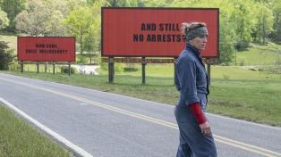 """McDormand brilla en """"3 anuncios por un crimen"""", que se estrena el jueves"""