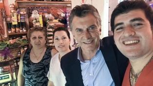 Macri visitó en Catamarca al dueño de una carnicería, que le pidió por los jubilados