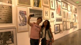 El Ministerio de Cultura invitó a sumarse al Día de la selfie en los museos del mundo