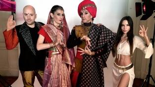 """Muscari dijo que con """"Bollywood"""" se reencontró con la pasión de los actores"""