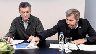 Macri encabeza en Olivos una reunión de seguimiento de gestión del Ministerio del Interior