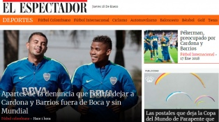 Preocupación en Colombia por la situación de Barrios y Cardona