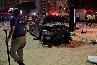El conductor que atropelló a 17 personas en Río había perdido su licencia