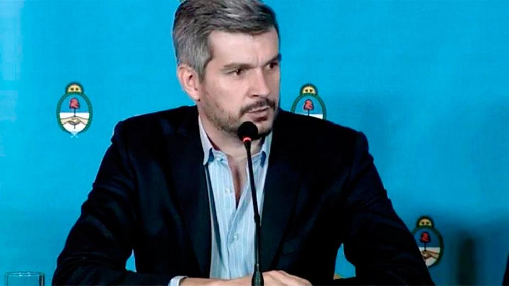 Marcos Peña: el FMI \
