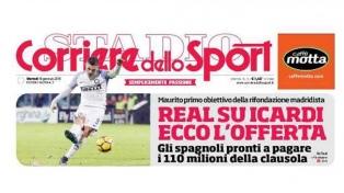 En Italia afirman que Real Madrid pagaría una fortuna por Icardi