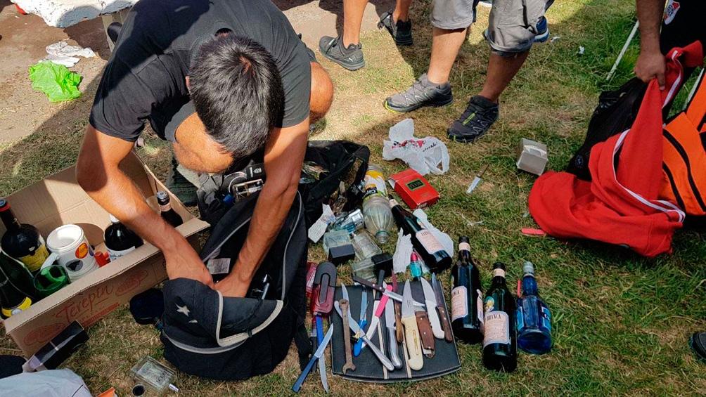 Los efectivos de seguridad requisarán el estadio Malvinas Argentinas (Foto archivo)