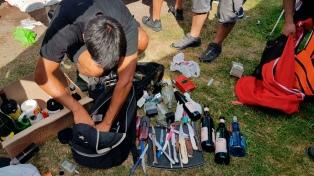 Secuestran drogas, alcohol y cuchillos entre hinchas de River