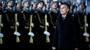 """Macri: """"Espero que sea una cálida visita donde podamos abrir campos de cooperación"""""""