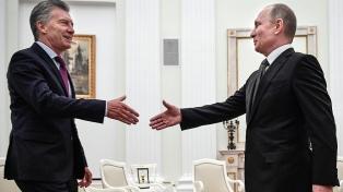 """""""A los empresarios rusos les decimos que hay que llegar ahora con inversiones a la Argentina"""""""