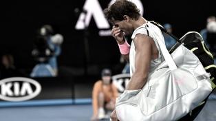 Nadal abandonó por lesión y Marin Cilic es semifinalista