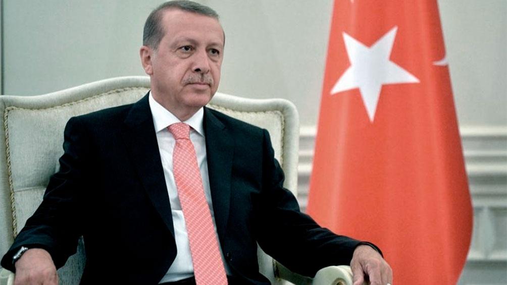 presidente de Turquía Recep Erddogan