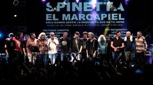 """Homenaje a Spinetta en el Konex: un """"batallón"""" de talentos para un legado inestimable"""