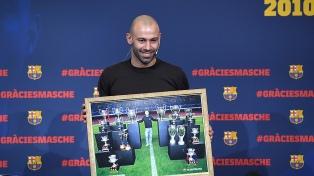 Mascherano dejó el Barcelona con una emotiva carta