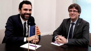 Impiden una reunión con los líderes catalanes en la sede oficial de Bruselas