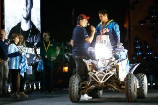 Cavigliasso se mantiene líder en cuatriciclos en el Dakar