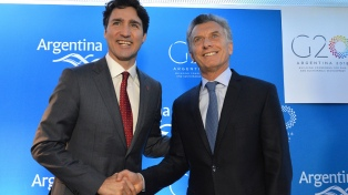 Macri con Trudeau: Venezuela y la relación entre el G20 y el G7
