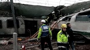 Al menos tres muertos y más de 100 heridos al descarrilar un tren en Milan