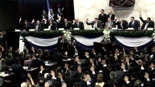 Se constituyó el nuevo Congreso con rechazo de la oposición