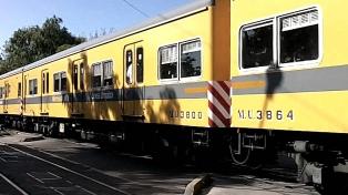 Durante el 2017, la línea Urquiza aumentó en un 10% la cantidad de pasajeros